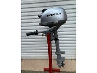 Honda 2.3hp Outboard Boat Engine Auxiliary Fishing Yacht Tender Dingy Rib