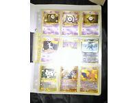 Pokemon Set Of 9 Rare Exclusive Cards