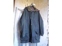 Lined Wax Coat
