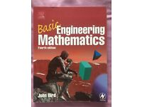 Basic Engineering Mathematics textbook, 4th Ed. John Bird