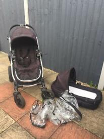 City select double buggy & carrycot