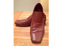 Base Tan 'Cloak & Dagger' Men's Loafers (UK10/EU44) JUST REDUCED