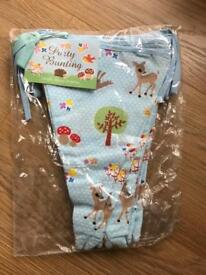 Forrest Woodland Bunting Brand New!