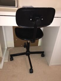 Office study chair in black £5