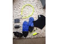 Diving equipment- random job lot