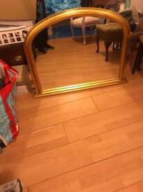 Morris furniture large heavy mirror