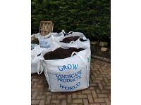 Top Soil - border blend topsoil & 4 Rolls of Garden Turf