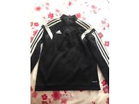 Adidas tracksuit top youth medium
