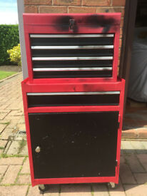 **DOUBLE TOOL CABINET, GOOD CONDITION**