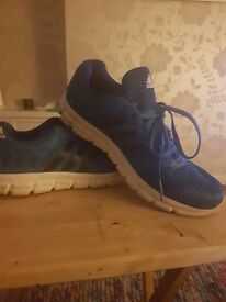 Addidas mens trainers size