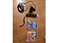 Playstation Move Controller ps3 ps4 compatible.