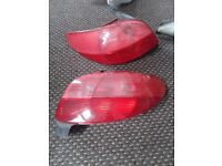 Rear back lights Peugeot 206