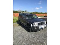 Jeep commander CRD A with extras!! Needs new engine