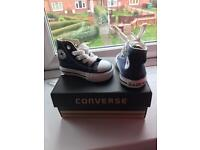 Infant baby converse size 2 brand new