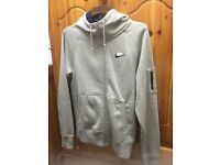 MENS NIKE ORIGINAL FLEECE GREY TOP HOODIE SWEATSHIRT JUMPER AND TRACKSUIT BOTTOMS