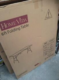6ft Folding Table - Picnic Table / Banquet / Car Boot Sale
