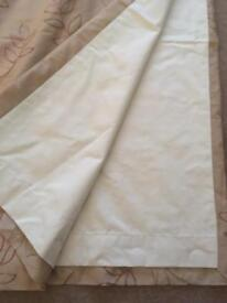 Curtains (with black out lining) (2 pairs)