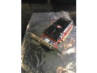 ATI FirePro 2450 Multi-View 512MB PCI-e quad monitor Graphics Card
