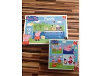 Peppa Pig jigsaws