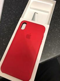 iPhone X Case (Product) Red™️