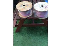 2Cx1.5MM2 lSNH speaker 2 core pink(2 drums)