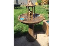 Solar powered fountain only £80 sold on eBay for £150