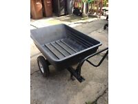 Tipping garden cart only 1 yr old