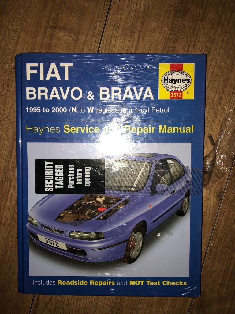 Haynes manual fiat bravo and brava 95-00 new
