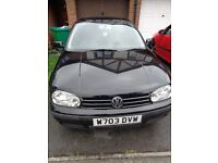1.4 VOLKSWAGEN GOLF VERY LOW MILEAGE