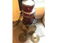 John Grey Broadway Drum Kit + Hardware + Cymbals