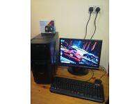 12 Months Warranty Complete PC Computer Gaming System