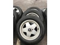 "15"" OPEL/ VAUXHALL ALLOY WHEEL WITH TYRES 7J"