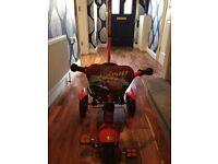 Lightning McQueen trike