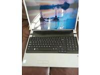 Dell PP31L 17 inch laptop. Windows 10. Office 2010