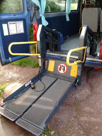 Ricon wheelchair tail lift - can help deliver locally near Exeter