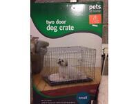 Dog crate 2 door
