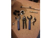 Bicycle Tools and small Parts