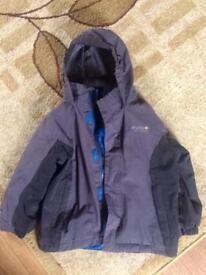 Regatta jacket and Trespass suit, Age 3-4
