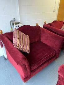 Large Settee+1 Matching Chair+ 1 Love Seat