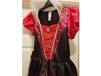 Queen of hearts fancy dress