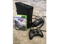Xbox 360 with game and controller