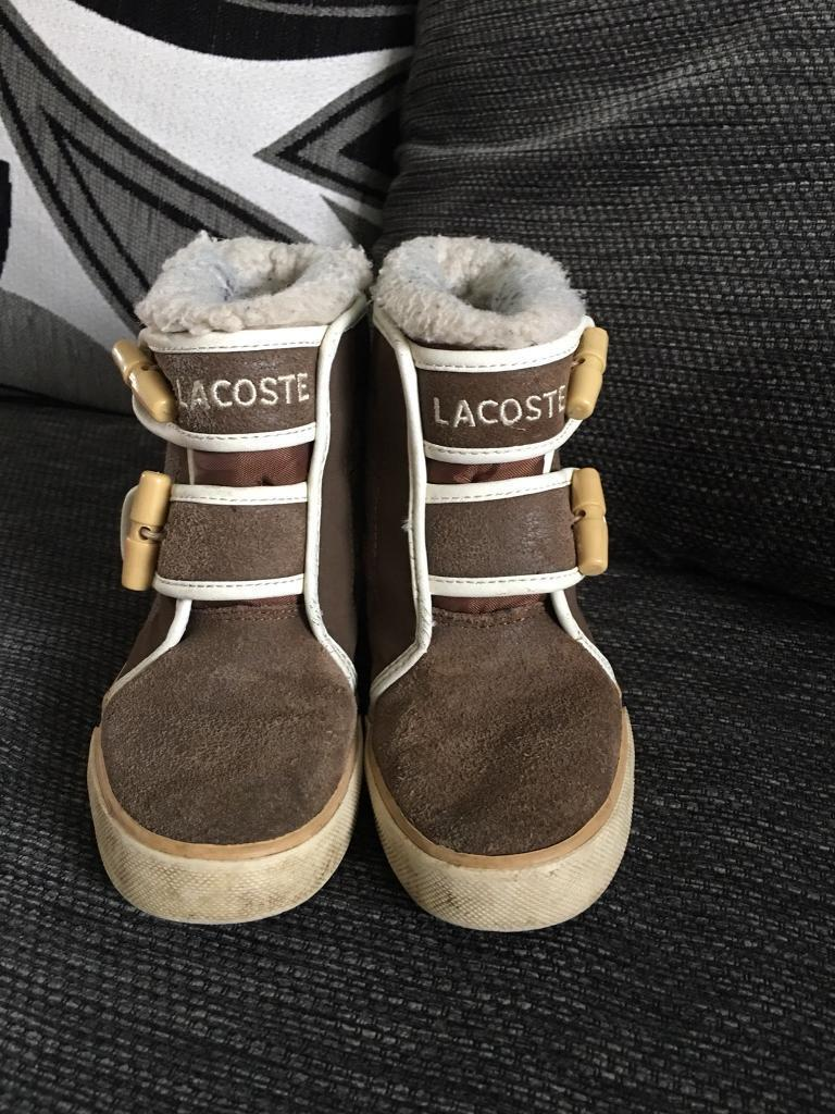 Genuine Lacoste Boots