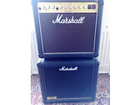 Vintage Marshall Artist 4203 valve amp with Marshall 1912 extension cabinet for sale