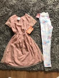 Age 11-12yrs dress and leggings