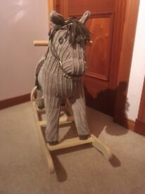 Mamas and Papas 'Raffle' Rocking Horse