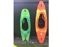 2 pyranha kayaks for sale