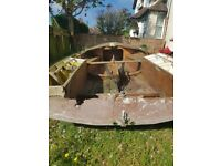 FREE Mirror miracle sailboat FREE needs restoration. Ideal for project