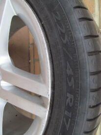 Audi spare wheel 5 stud