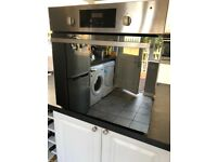 Built in stainless steel fan assisted oven - Whirlpool AKP206IX