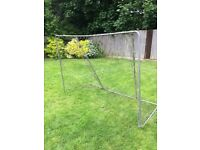 7ft x 5ft aluminium frame goal post